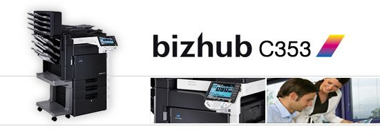 bizhub c353